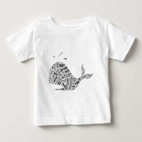 Camisa del arte de la palabra de Moby Dick