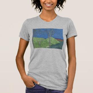 Camisa del arte de las montañas de San Bernardino