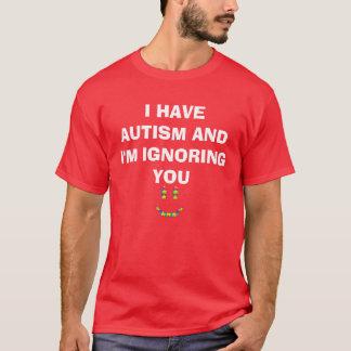 Camisa del autismo para sus niños
