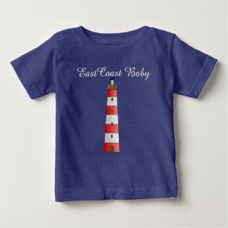 Camisa del azul de la nave del barco de vela del