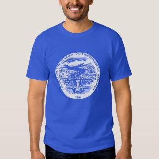 Camisa del azul real JIRP