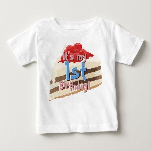 Camisa del B-día de la torta del helado