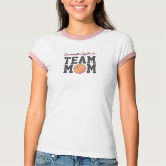Camisa del baloncesto de la mamá del equipo
