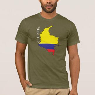 Camisa del Bandera-Mapa de Colombia