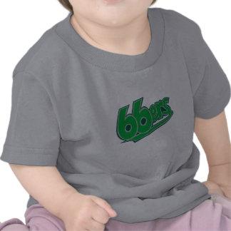 camisa del bebé 66ers