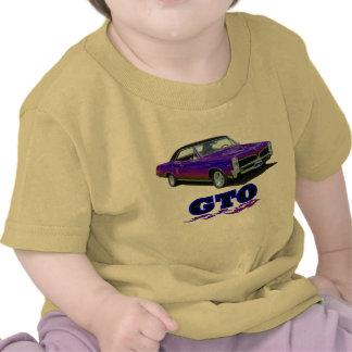 """Camisa del bebé con el diseño de """"Pontiac GTO"""""""