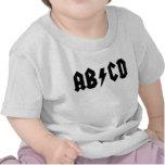 Camisa del bebé de AB/CD