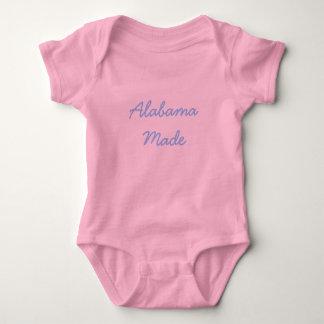 Camisa del bebé de Alabama
