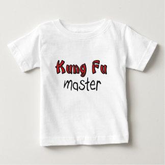 Camisa del bebé de Kung Fu