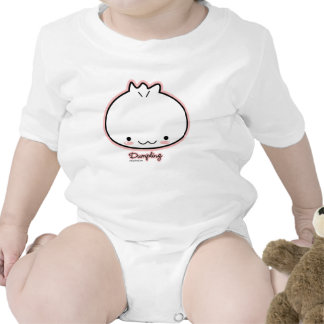 Camisa del bebé de la bola de masa hervida (más es