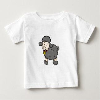 Camisa del bebé de las ovejas negras