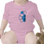 Camisa del bebé de los compinches del queso de soj