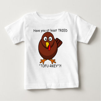 Camisa del bebé de Turquía del Queso de soja-rkey