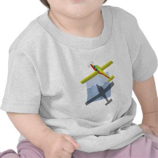 Camisa del bebé del aeroplano