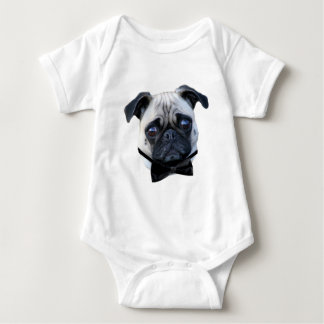 Camisa del bebé del barro amasado del muchacho