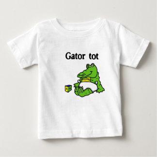 """Camisa del bebé del bebé del cocodrilo"" Remera"