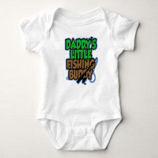 Camisa del bebé del compinche de la pesca de