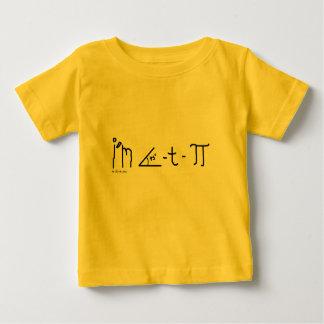 camisa del bebé del cutie pi