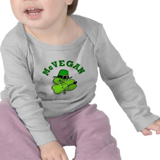 Camisa del bebé del día de McVegan St Patrick