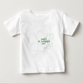 Camisa del bebé del día de St Patrick feliz del