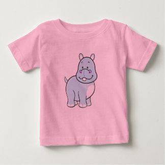 Camisa del bebé del hipopótamo