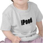 camisa del bebé del iPood
