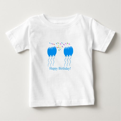 Camisa del bebé del muchacho del cumpleaños