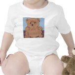 Camisa del bebé del oso de Wes T
