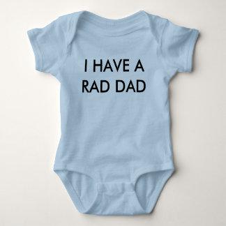 Camisa del bebé del papá del Rad