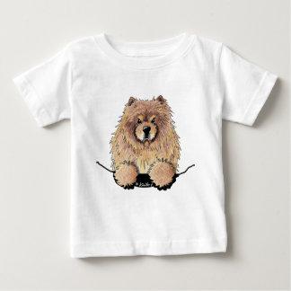 Camisa del bebé del perro chino de perro chino del