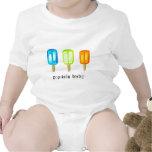 Camisa del bebé del Popsicle