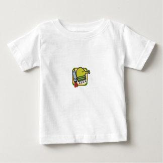 Camisa del bebé del salto del Doodle