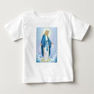 Camisa del bebé del Virgen María