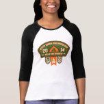 Camisa del béisbol de las señoras de BTA HOF22