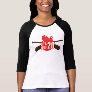 Camisa del béisbol de las señoras HOF20