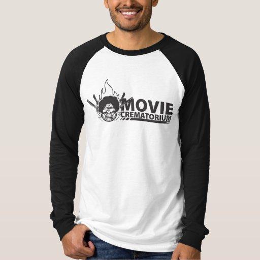 Camisa del béisbol del crematorio de la película