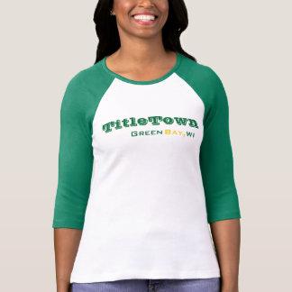 Camisa del béisbol del embalador