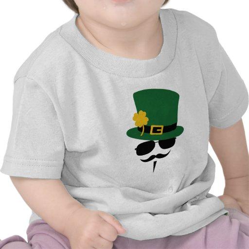Camisa del bigote del día del St. Patricks