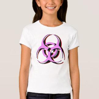 Camisa del Biohazard del chica - vórtice