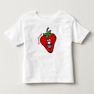Camisa del blanco de los *Kids de la fresa