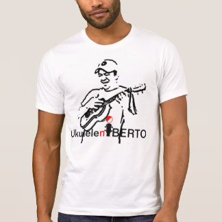 camisa del blanco del ukuleleniberto del jugador