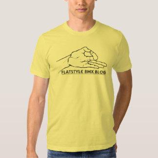 camisa del blog del bmx del flatstyle