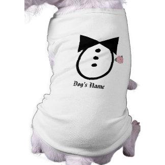 Camisa del boda del perro del personalizar usted m ropa para mascota