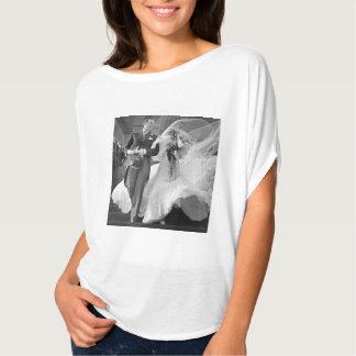 camisa del boda del vintage