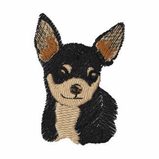 Camisa del bordado del arte del perro de la