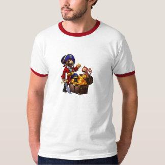 Camisa del botín del pirata