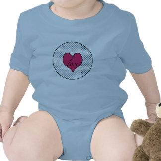Camisa del botón del amor