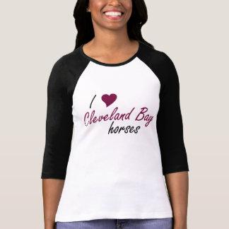 Camisa del caballo de bahía de Cleveland