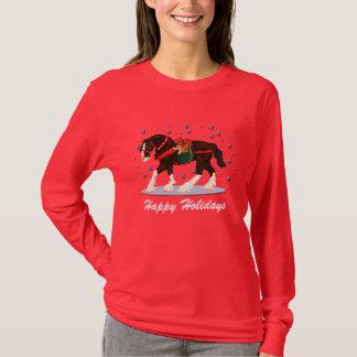 Camisa del caballo de Clydesdale del día de fiesta