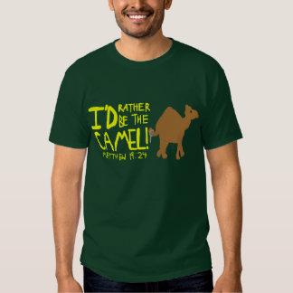 Camisa del camello